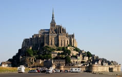 Mont St Michel in Normandy, France