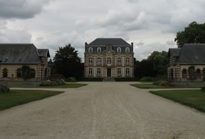 Saint Lo national stud farm in Normandy France