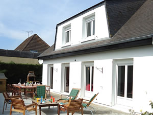Large 6-bed beach house in Normandy