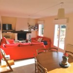 Lounge in Normandie Holiday Rental House near beach