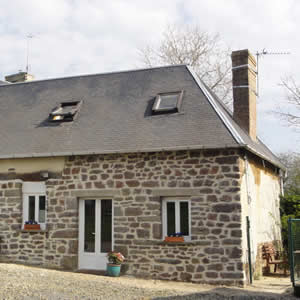 Normandy holiday accommodation. Gite, 2 bedroom, sleeps 4